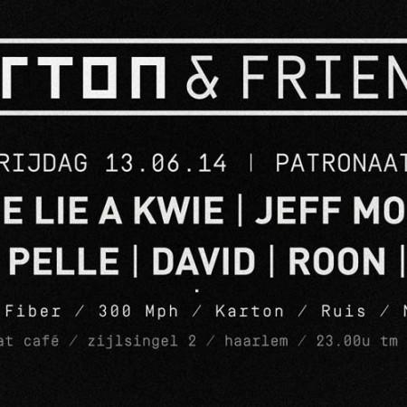 KARTON & FRIENDS / 13-06-2014